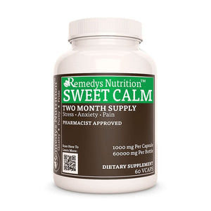 Sweet Calm™ Supplement Remedy's Nutrition