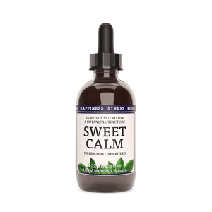 Sweet Calm Tincture™ Tincture Remedy's Nutrition