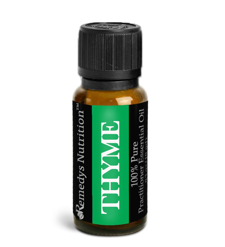 Thyme Essential Oil 3 Dram / 10 mL Personal Care Remedy's Nutrition