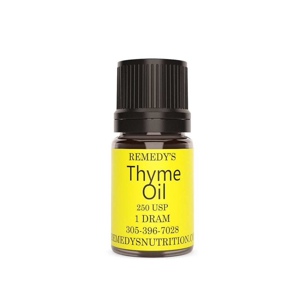 THYME OIL 1.5 DRAM Personal Care Remedy's Nutrition