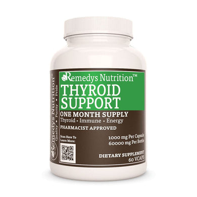 Thyroid Support Supplement Remedy's Nutrition