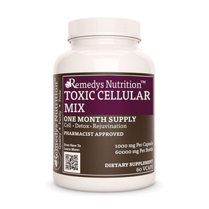 Toxic Celluar Mix Supplement Remedys Nutrition