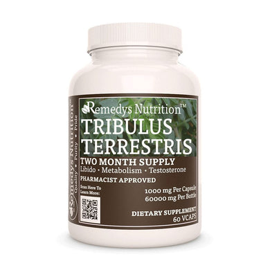 Tribulus Terrestris Supplement Remedys Nutrition