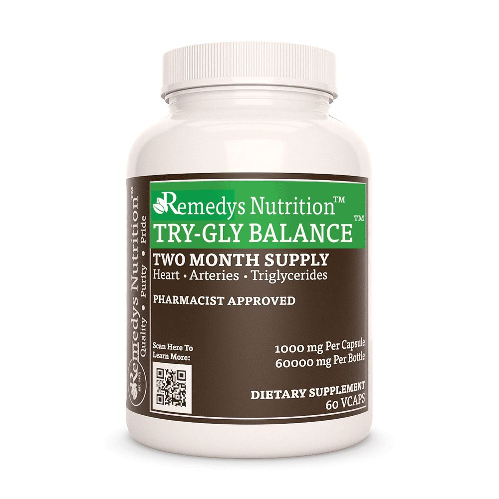 Try Gly Balance (Triglyceride Support) Supplement Remedy's Nutrition