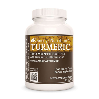 Turmeric Root Supplement Remedys Nutrition