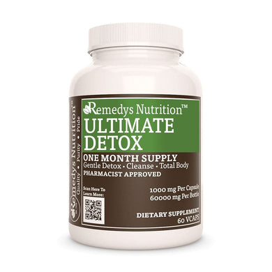 Ultimate Detox Supplement Remedy's Nutrition