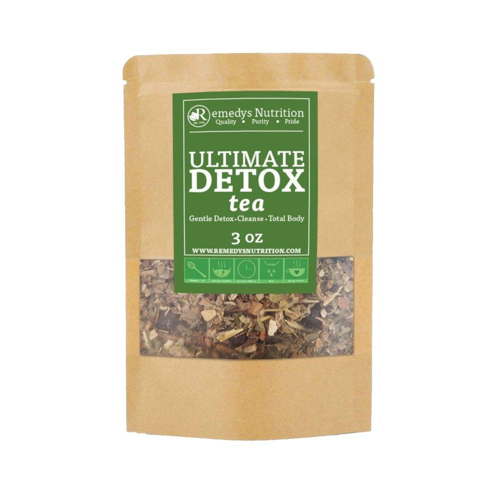 Ultimate Detox Tea Supplement Remedy's Nutrition