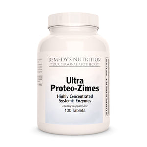 Ultra Proteo-Zimes Remedy's Nutrition