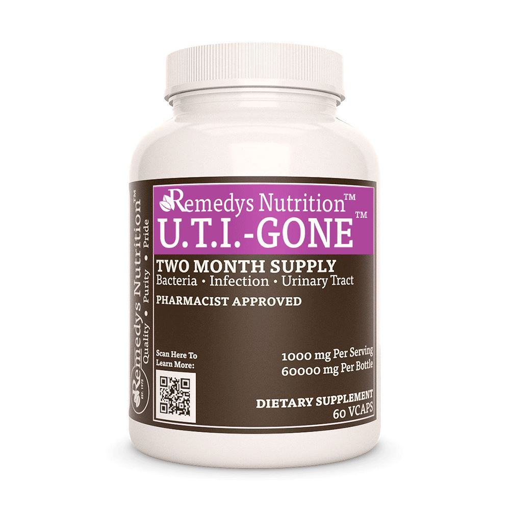 UTI Gone Supplement Remedy's Nutrition