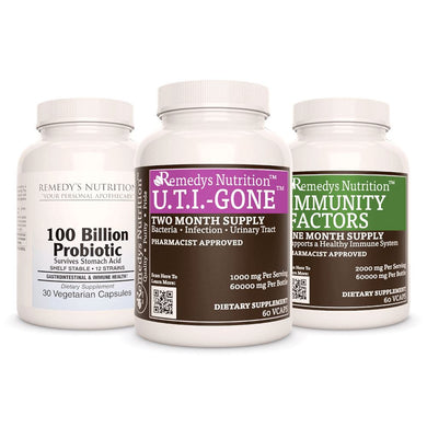 UTI (Urinary Tract Infection) Power Pack Power Pack Remedy's Nutrition