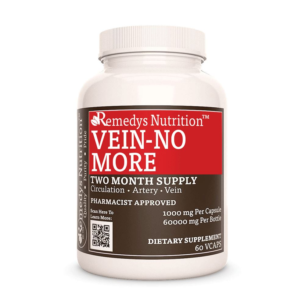 Vein No More™ Supplement Remedy's Nutrition