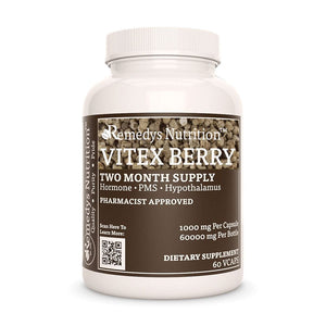 Vitex Berry Supplement Remedys Nutrition