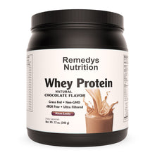 Load image into Gallery viewer, Whey Protein - Chocolate Supplement Remedy's Nutrition