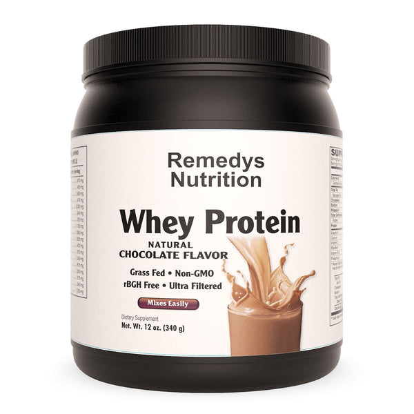 Whey Protein - Chocolate Supplement Remedy's Nutrition