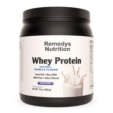 Whey Protein - Vanilla Remedy's Nutrition