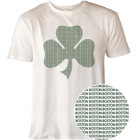 Boston Shamrock Tee