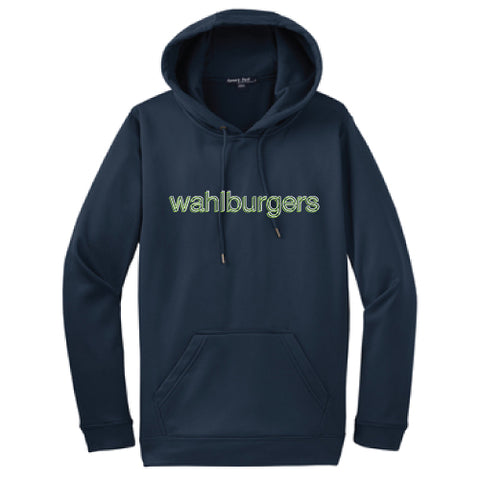 Wahburgers NAVY DRI-FIT FLEECE