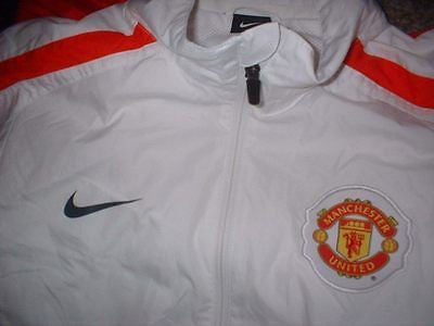 62ed67538 Manchester United Tracksuit Jacket Adult M Nike Jersey Shirt Soccer Football  Top
