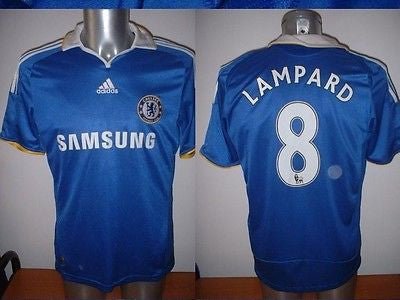 Chelsea Shirt Adidas Jersey Boys Youth L Football Soccer Frank Lampard –  classic-kits 44d69af42