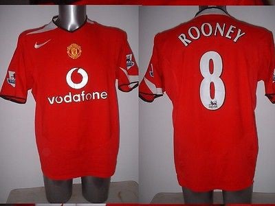 1090dcf94 Manchester United Rooney Nike Shirt Jersey Football Soccer Adult L Eng –  classic-kits