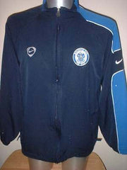 765dc0392 Rochdale Nike Adult L ZIp Player Worn Training Top Jacket Soccer Shirt  Jersey