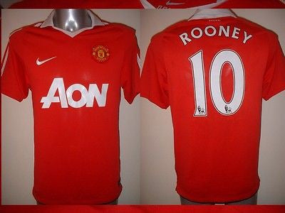 26c659b5f Manchester United ROONEY Jersey Shirt Adult S Soccer Football Nike Man –  classic-kits