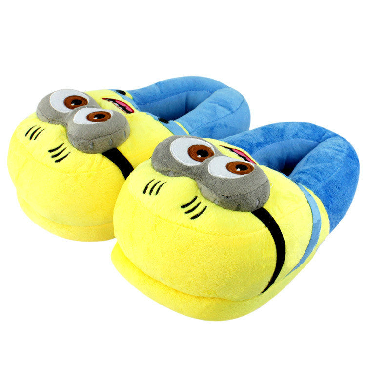 Super Cute Minions Slippers - One Cool Gift  - 1