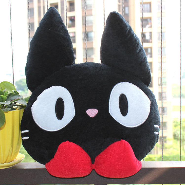 Kiki's Delivery Service Jiji Cat Cushion - One Cool Gift  - 1
