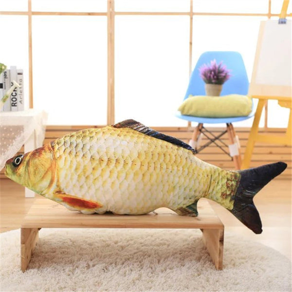 Carp Fish Plush Toy Cushion - FREE SHIPPING - One Cool Gift  - 1