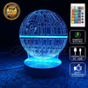 The Death Star LED Lamp With Remote Control - FREE SHIPPING - One Cool Gift  - 1