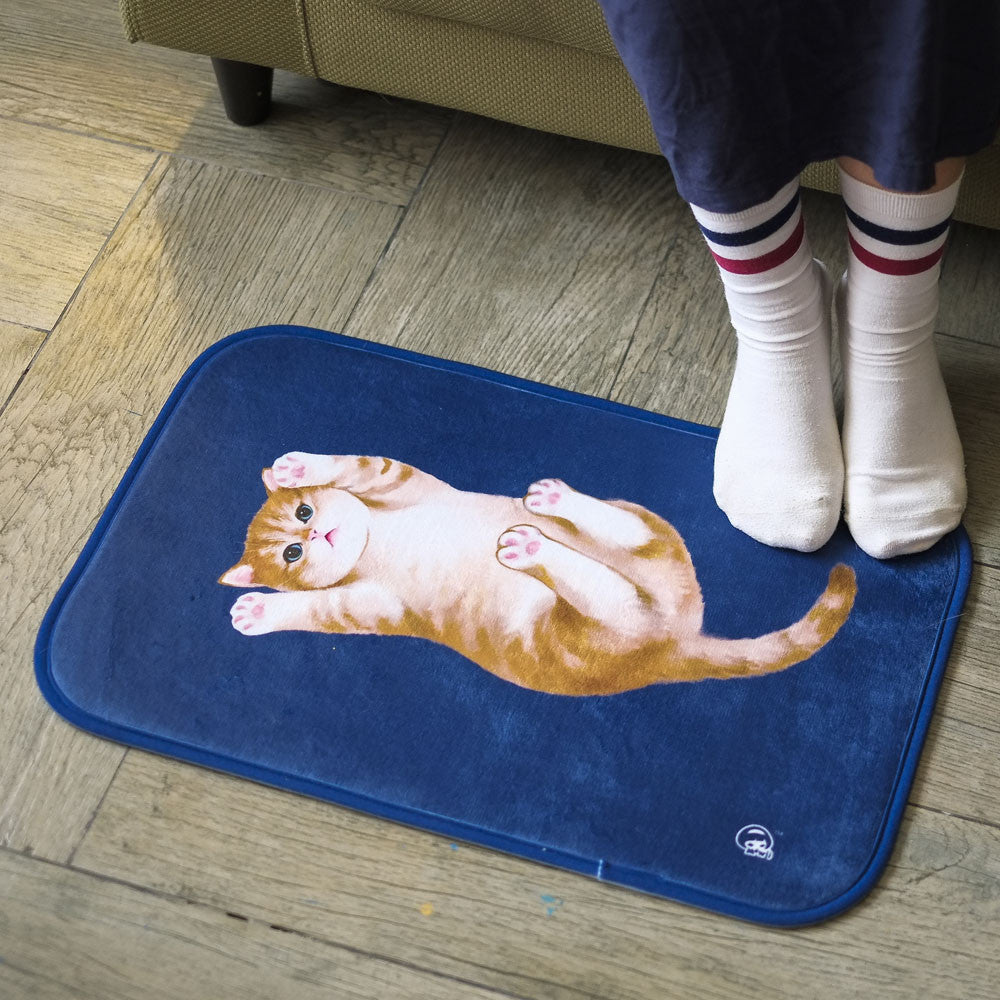 Play With Me Blue Floor Mat - One Cool Gift  - 1