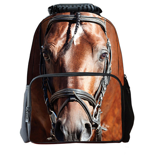 Proud Horse Lover Backpack - FREE SHIPPING - One Cool Gift  - 1