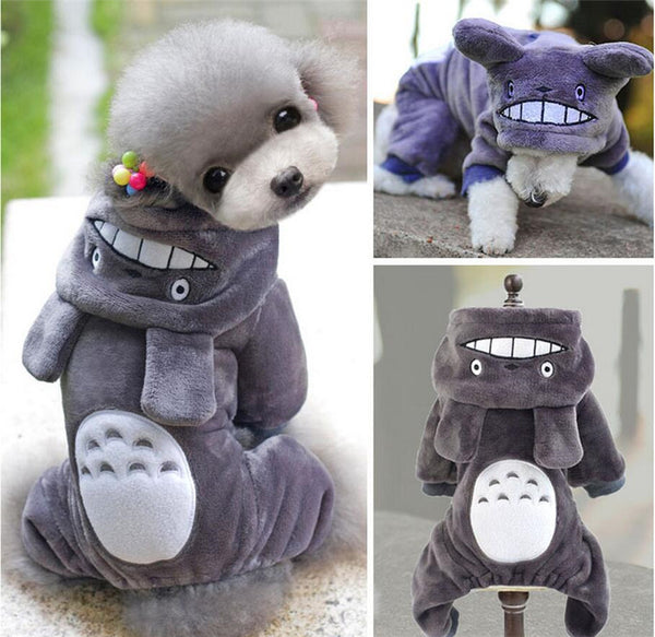 Totoro Hoodie Jumpsuit For Small Pets - One Cool Gift  - 1