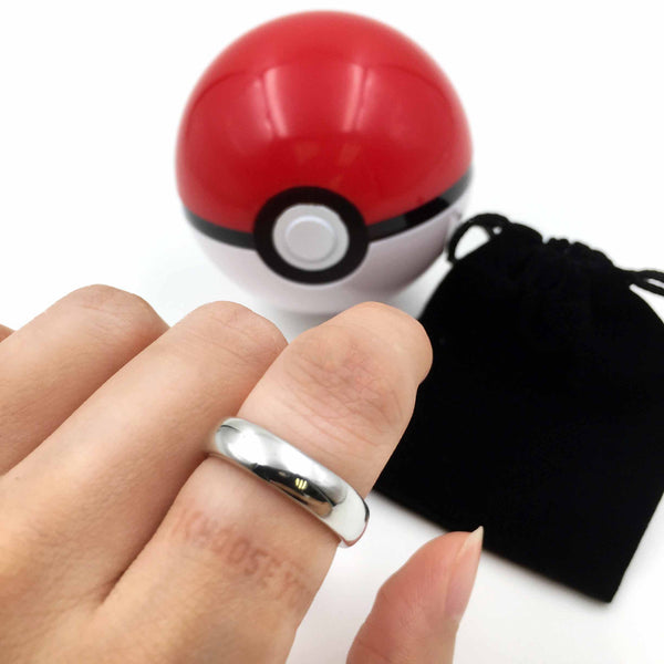 """I Choose You"" 925 Sterling Silver Secret Message Ring - One Cool Gift  - 1"