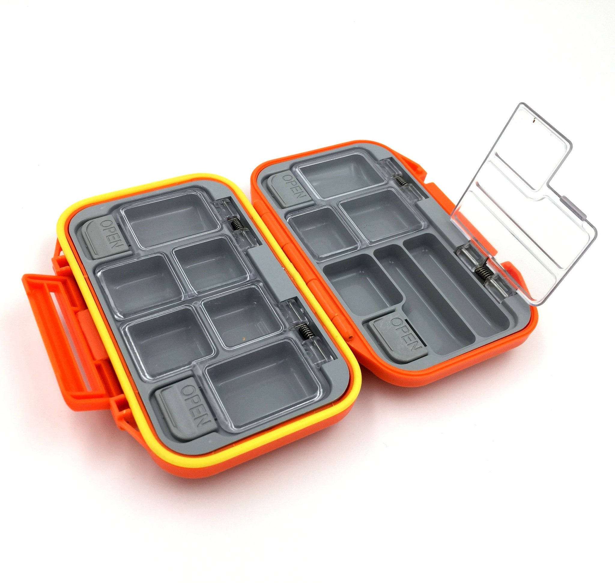 12 compartments waterproof fishing lure tackle box one for Cool fishing gifts
