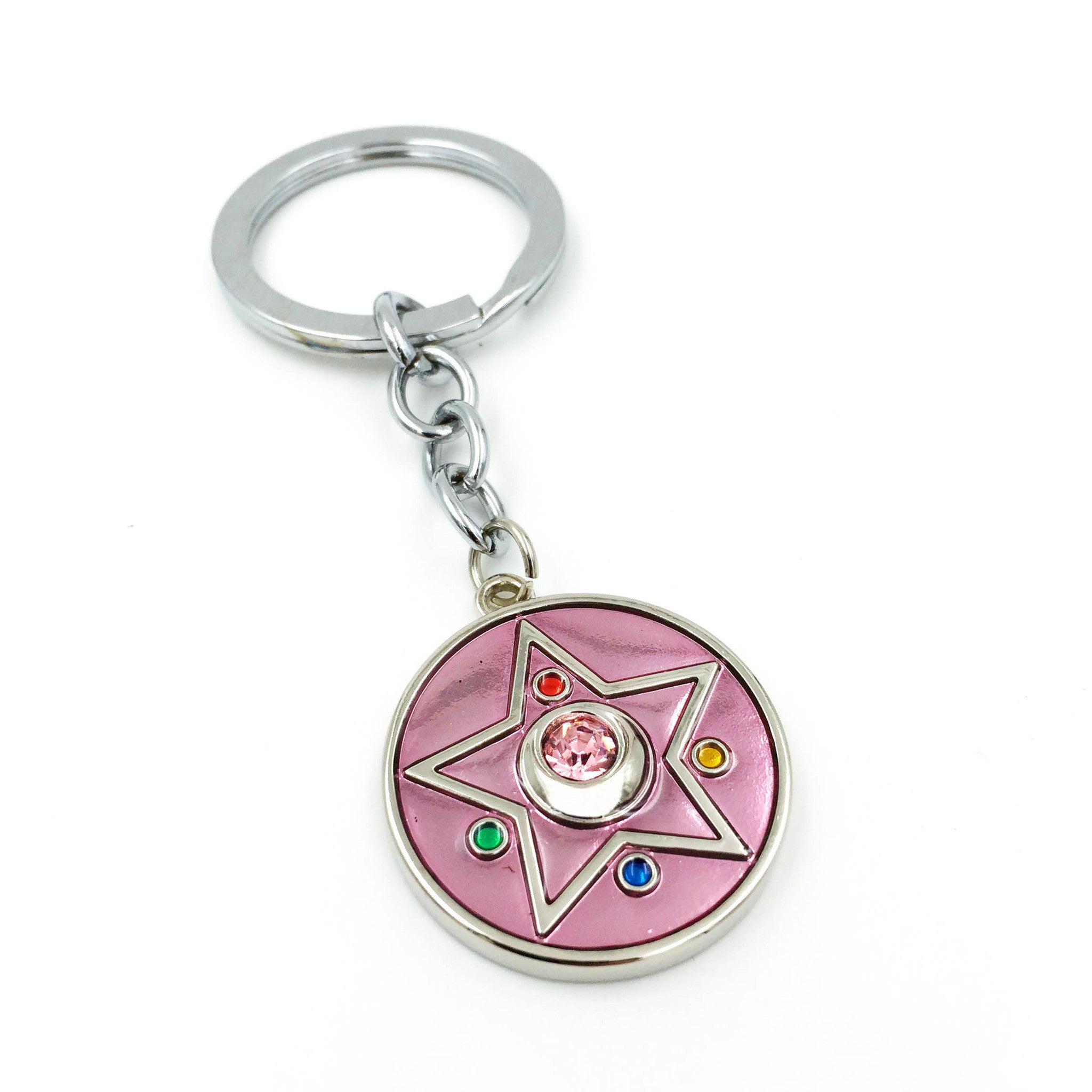 Sailor Moon Crystal Star Keyring - One Cool Gift
