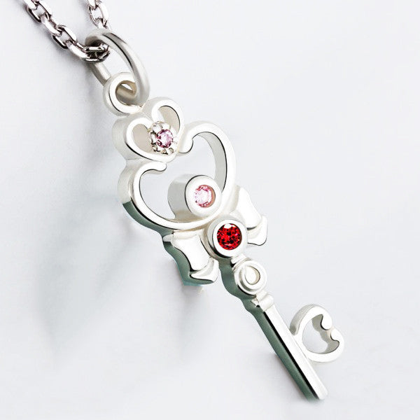 Sailormoon Heart Edition 925 Sterling Silver Necklace - One Cool Gift  - 1