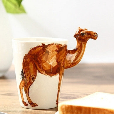 """Camel Lover"" Handmade Ceramic Mugs - One Cool Gift"
