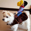 Funny Yee Haw Cowboy Pet Costume - One Cool Gift  - 6