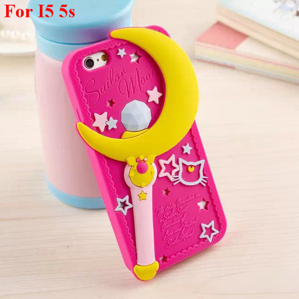 Sailor Moon Pretty 3D Silicone Case - One Cool Gift  - 2