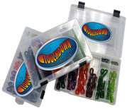 Tackle Pack Series Bundle PLUS 12 Black Fire-Tail Worms