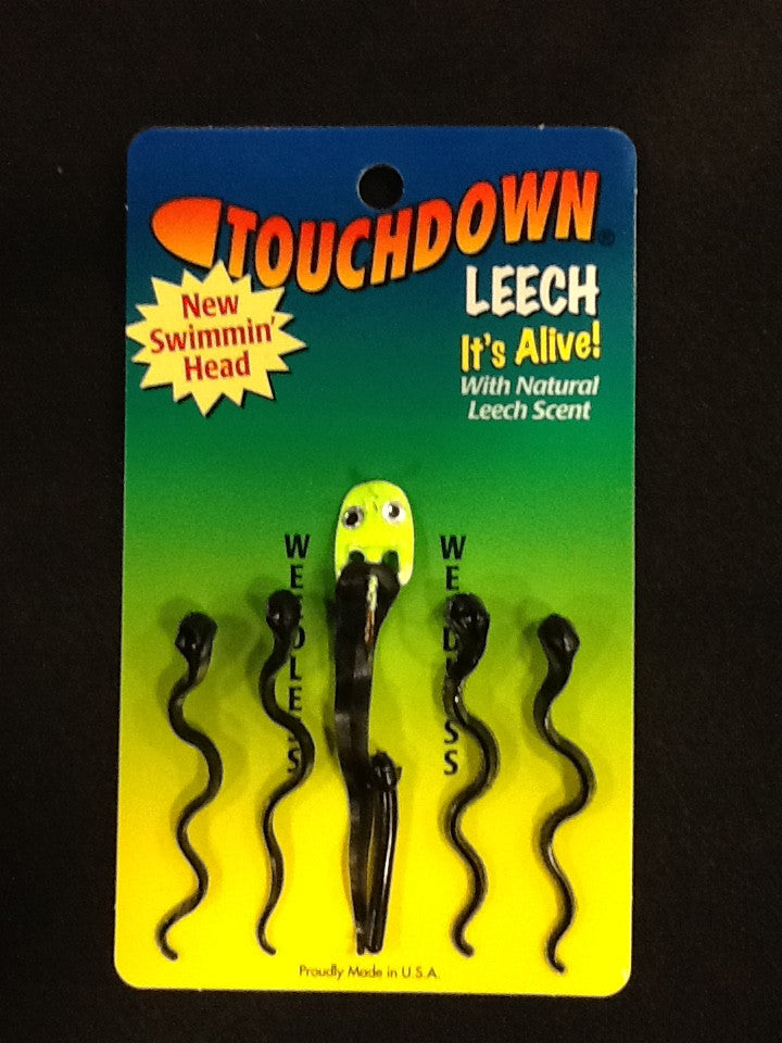 "1/4 oz. 3"" Leech with Swimming Head - 5 Pack"