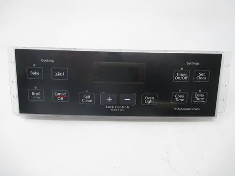 191D3776P009 WB27T10818 GE Black Stove Range Control *1 Year Guarantee* New Face