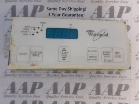 98007079 6610258 White Whirlpool Stove Control *1 Year Guarantee* SAME DAY SHIP