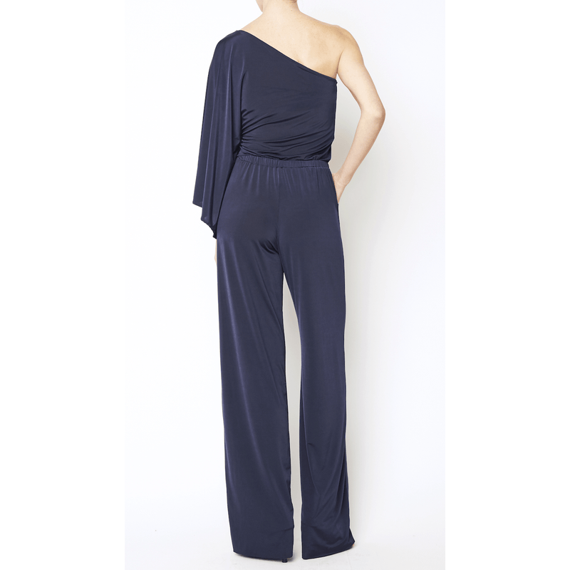 Navy Throwback Jumpsuit