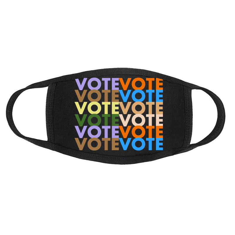 LOOK GOOD DO GOOD Black VOTE Mask 3-Pack