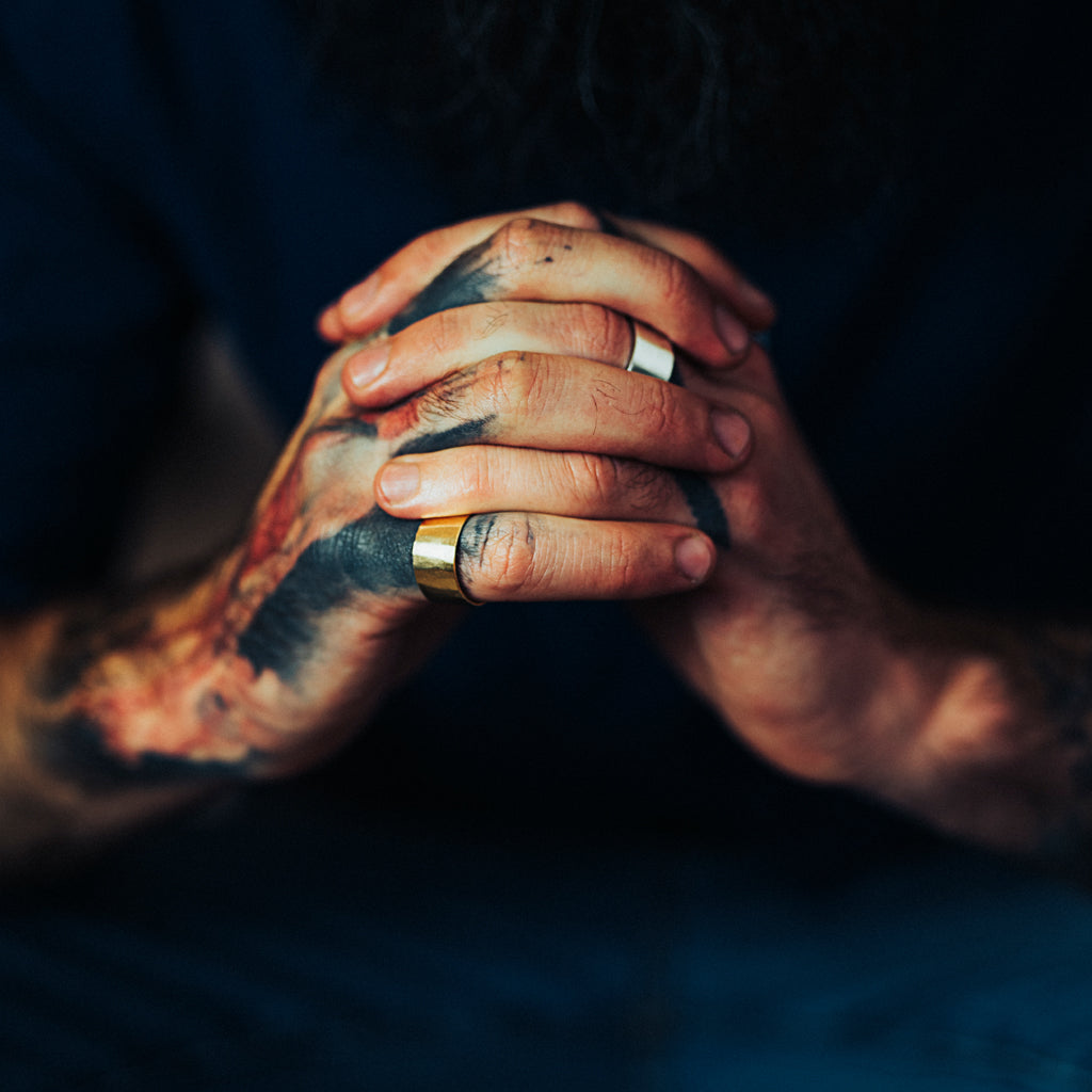 mens rings by may hofman jewellery