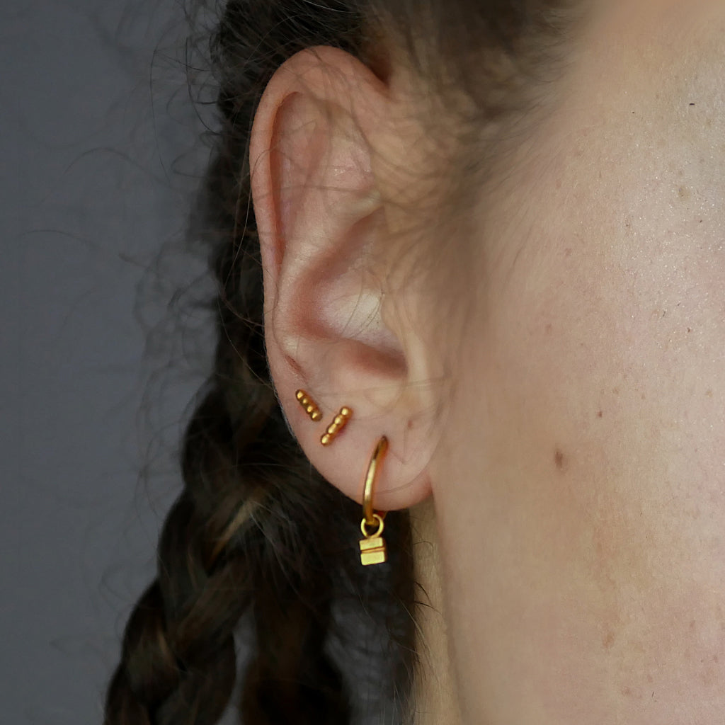 minimal studs by may hofman jewellery