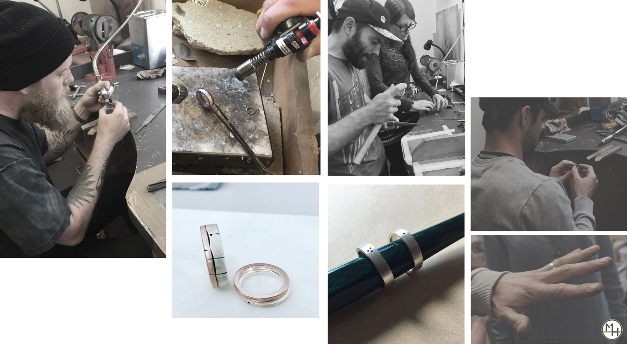May Hofman Jewellery 'Make your own wedding rings' Jewellery Workshops