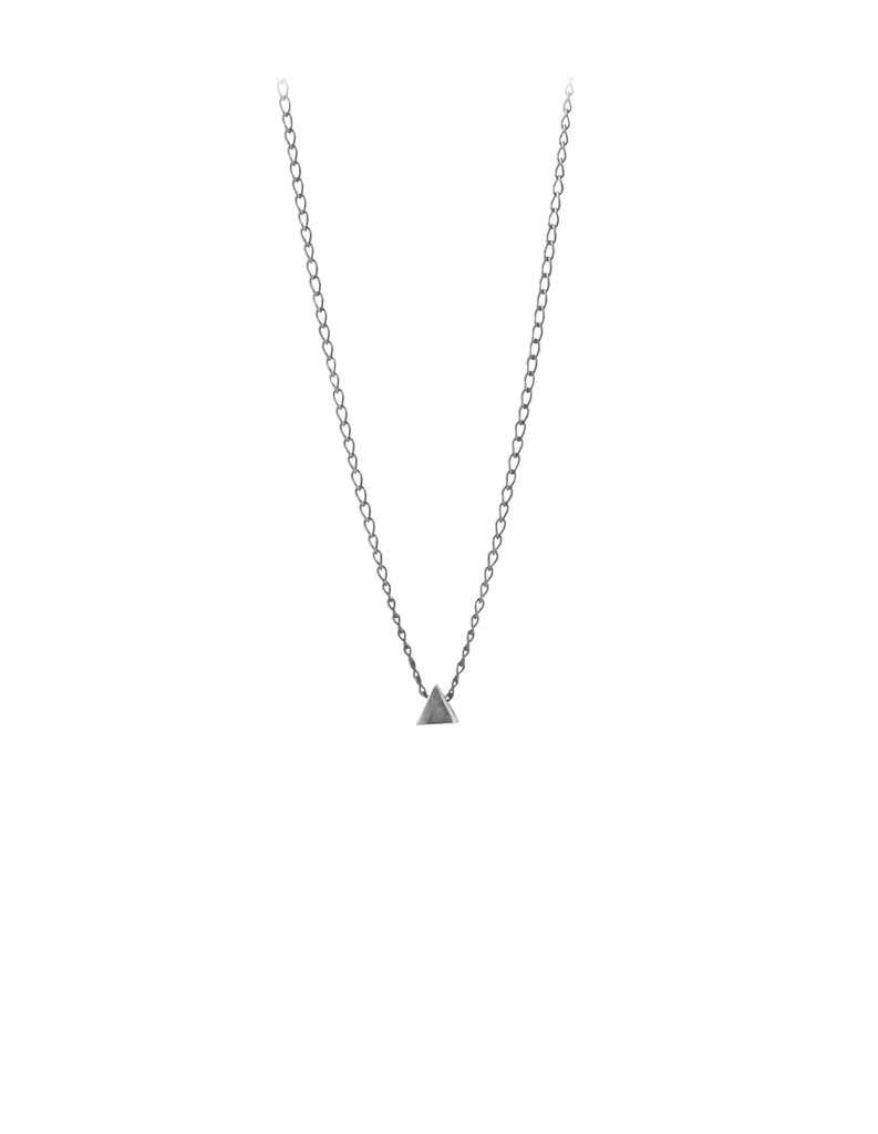 silver EQ necklace by May Hofman Jewellery